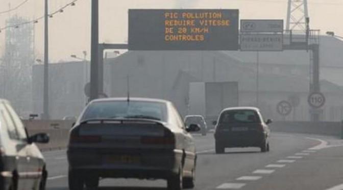 06 décembre – Alerte pollution aux particules fines