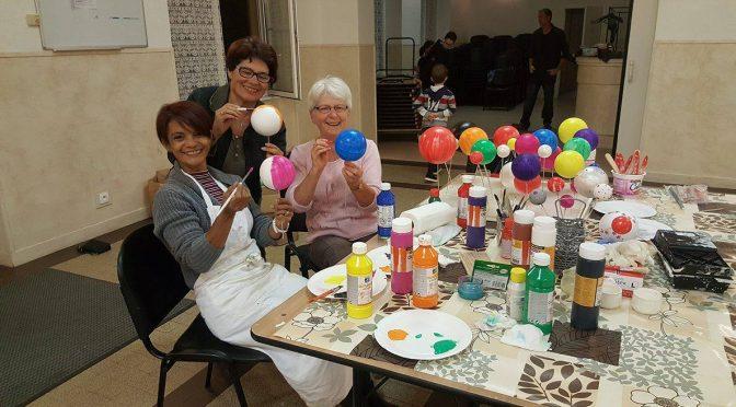 L'Atelier des bénévoles prépare Noël